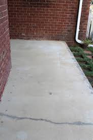 Painting A Cement Patio by Refinishing Concrete With Behr U0027s Deckover The Story Of Us