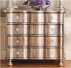 Upcycling Furniture - upcycled furniture using metallic finishes dig this design