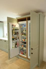 Kitchen Cabinets Refrigerator Surround by Built In Larder Fridge Google Search Mom Dining Room