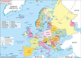 map of europe with country names and capitals political map of europe with countries and capitals