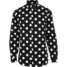 types of shirts mens polka dot shirts stripes printed and plain