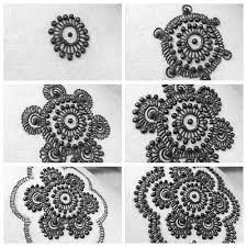 mandala designs can be really easy to do with simple repetitions