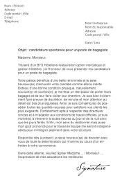 commis de cuisine lettre de motivation modèles de lettres de motivation pour l hôtellerie et la restauration