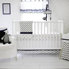 White Crib Set Bedding My Baby Sam Out Of The Blue Crib Set Navy Gray Baby