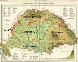 Budapest Hungary Map Great Hungary Map Greater Hungary Map Eastern Europe Europe