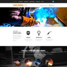 welding website templates