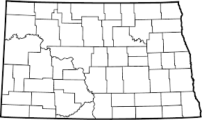 Blank Civil War Map by Geology Geography And Climate North Dakota Studies