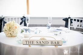 cape cod nautical beach wedding sweetheart table tying the knot