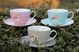 pip studio home individual 3 tea cup set the tea lover s