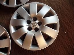 2004 toyota corolla hubcaps used 2004 toyota corolla hub caps for sale