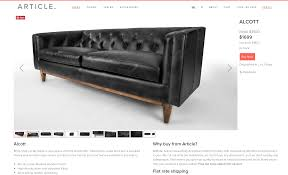 Leather Sofas Chesterfield by Our New Modern Chesterfield Black Leather Sofa Chris Loves Julia