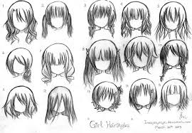 Cute Anime Hairstyles Anime Hairstyles Billedstrom Com