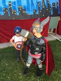 diy captain america thor costumes the scrap shoppe holiday