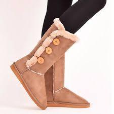 ebay womens winter boots size 9 ugg australia boots neumel chestnut shearling sheepskin us size 9