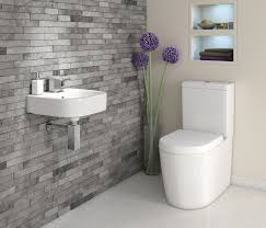 Grey Tile Bathroom by We Adore This White And Grey Bathroom Complete With Lavish Basin
