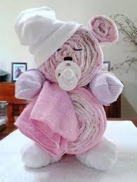 Diaper Cake Directions Sleepy Bear Nappy Cake Baby Shower Idea Pinterest Nappy Cake