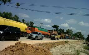 Minyak Cpo sopir ditangkap polisi gelapkan 9 ton minyak cpo tribun pekanbaru