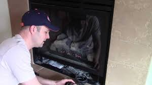 how home gas fireplace fan blowers work montigo youtube