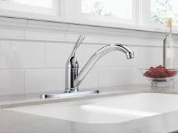 delta kitchen faucet warranty faucet 100 dst in chrome by delta