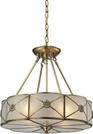 brushed brass light fixtures elk 22004 4 preston brushed brass hanging light fixture elk 22004 4