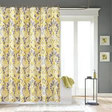 curtain curtains grey and white enchanting yellow designs custom