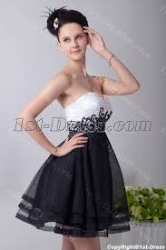 and black quinceanera dresses white and black empire quinceanera dress 1st dress
