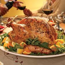 whole cooked turkey herb roasted turkey recipe eatingwell