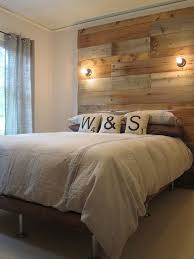 Headboards With Built In Lights Best 25 Reclaimed Wood Headboard Ideas On Pinterest Diy Wooden