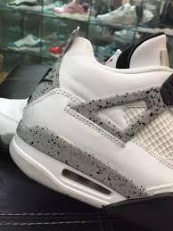 nike air jordan 4 og 89 white cement 2016 sneaker bar detroit