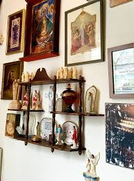 kitsch home decor catholic home decor a little heaven at home with a library