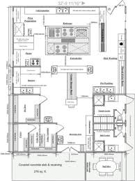 simple commercial kitchen layout arafen