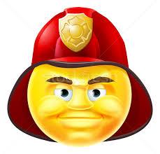 fireman emoji emoticon vector illustration christos georghiou