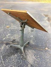 Iron Drafting Table with Vintage Drafting Table Ebay