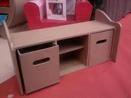 banc chambre enfant assise avec rangement banc coffre chambre enfant en le