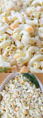 top 25 best simple macaroni salad ideas on pinterest mac salad
