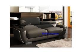 canap quimper ensemble de canapé en cuir italien 3 2 places modèle quimper