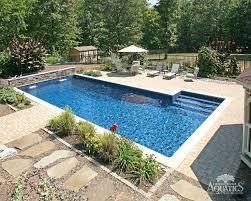 Backyard Deck Ideas Inground Swimming Pool Idea U2013 Bullyfreeworld Com
