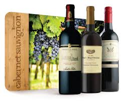 wine gift sets 90 point cabernet trio wine gift set wine