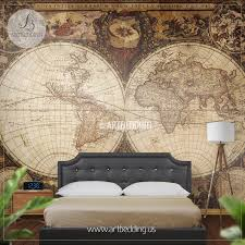 wall murals peel and stick self adhesive vinyl hd print tagged vintage world map hemisphere wall mural self adhesive peel stick photo mural atlas