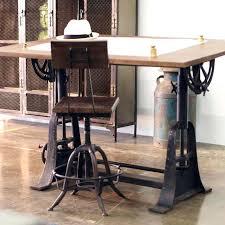 bureau type industriel bureau style industriel en metal et bois cleanemailsfor me
