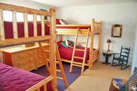 Two Bunk Beds Bunk Beds From Door Leelanau Vacation Rentals