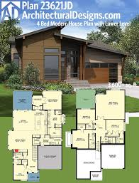 Modern House Plans With Photos 180 Best Modern House Plans Images On Pinterest Modern House