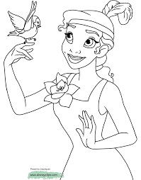 the princess and the frog coloring pages disney coloring book