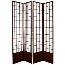 Asian Room Dividers by Oriental Furniture 7 U0027 Tall Window Pane Shoji Screen In White Room