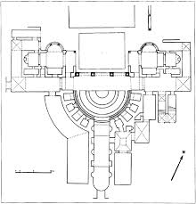Baths Of Caracalla Floor Plan Sources And Parallels For The Design And Construction Of The Pantheon