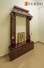 Wall Mounted Pooja Room Designs