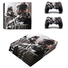 siege sony rainbow six siege skin sticker for sony playstation 4 pro ps4 pro