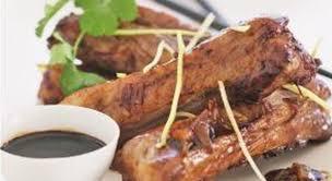 cuisiner travers de porc travers de porc caramélisé au gingembre frais