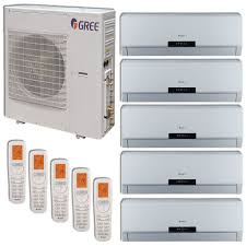 Wall Mounted Indoor Ac Unit Gree Multi42hp502