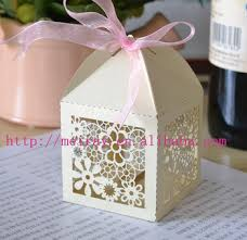 paper gift boxes guest wedding gift box paper gift box laser cut paper flower